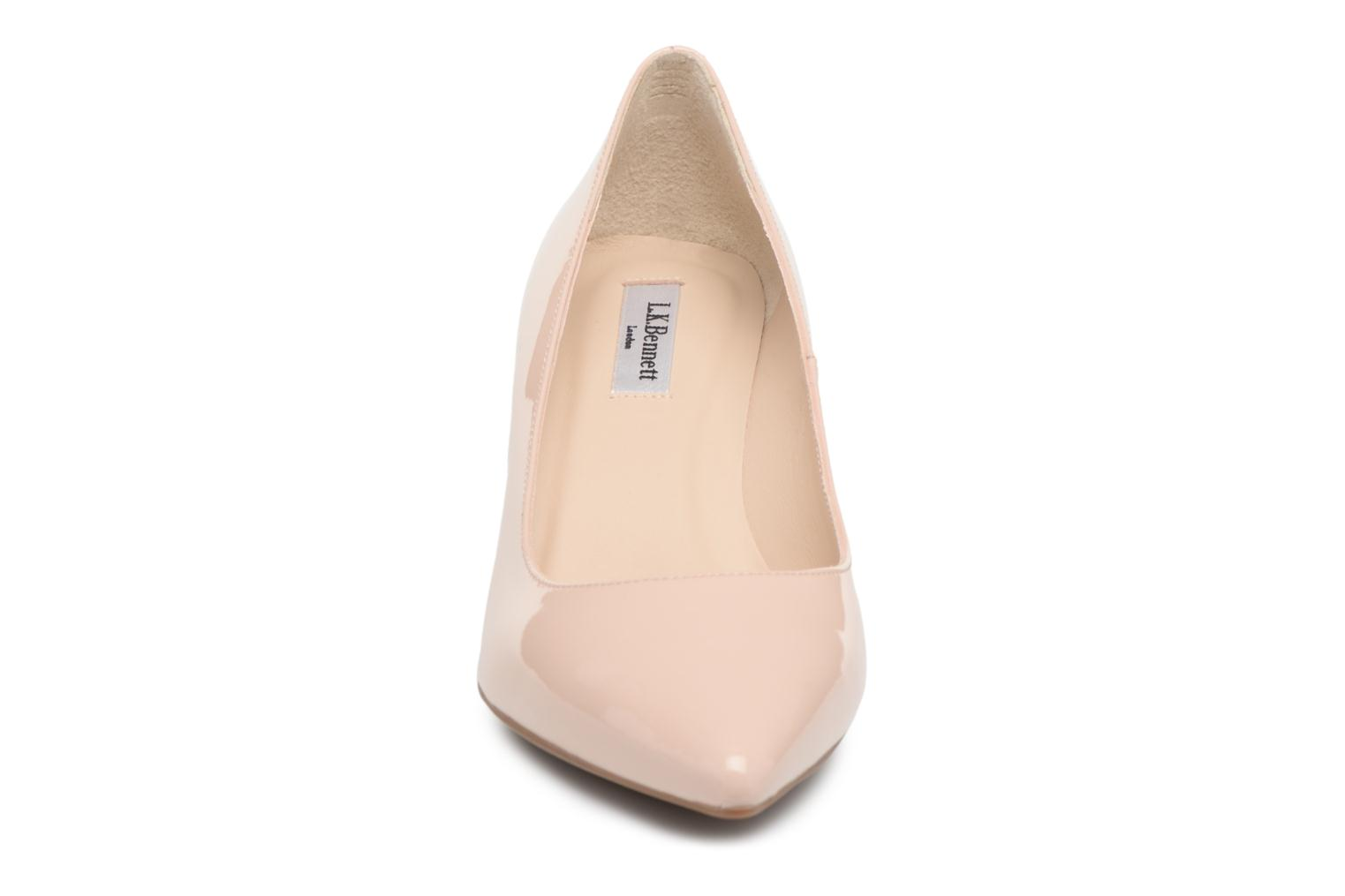 High heels L.K. Bennett Caisie Beige model view