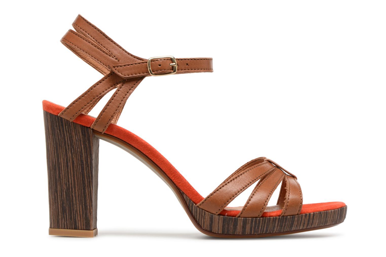 Sandales et nu-pieds Made by SARENZA Carioca Crew Sandales à Talons #7 Marron vue détail/paire