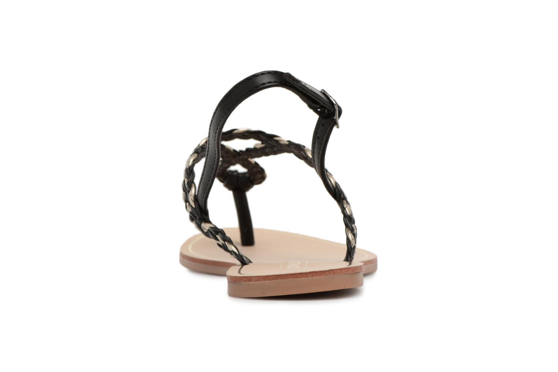Sandales et nu-pieds ONLY MARGIT Noir vue droite