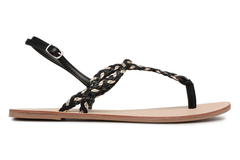 Sandales et nu-pieds ONLY MARGIT Noir vue derrière