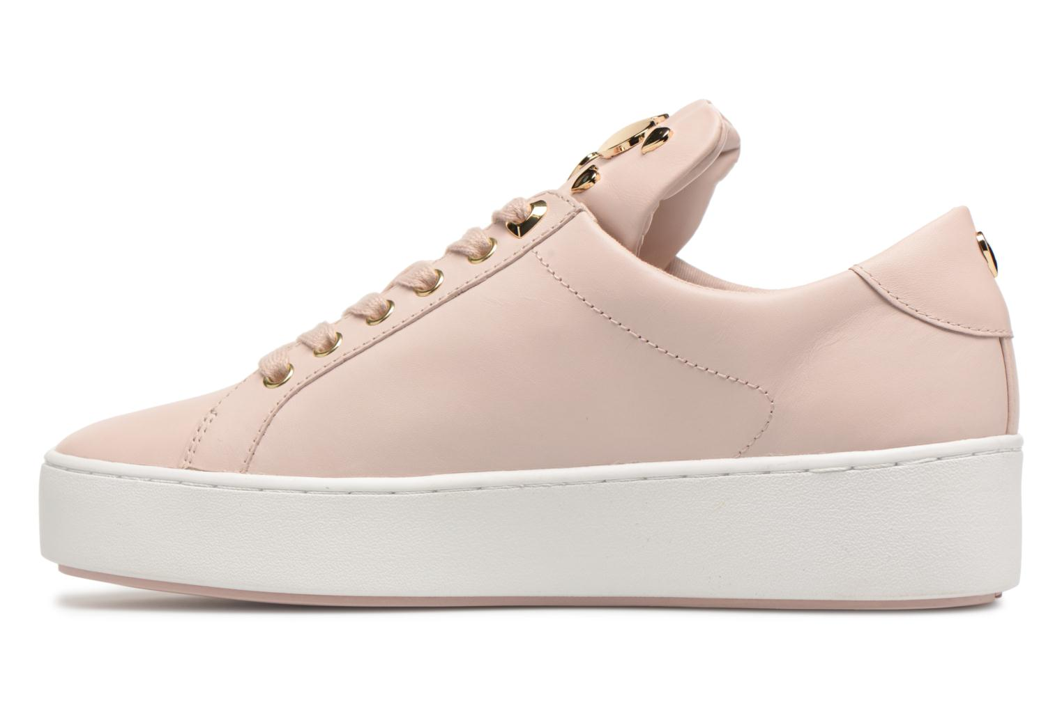 Trainers Michael Michael Kors Mindy Lace Up Pink front view