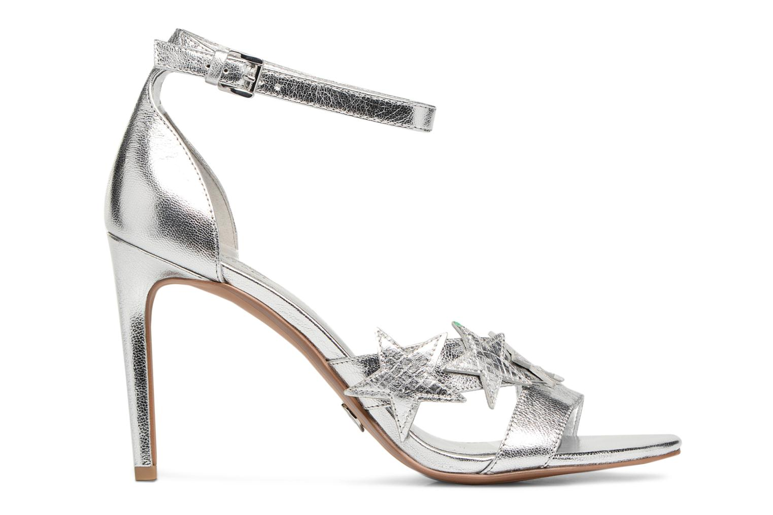 Sandals Michael Michael Kors Lexie Sandal Silver back view