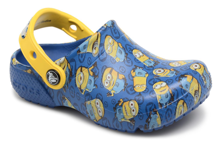 Crocs - Kinder - Classic Clog Graphic Kids FL Minions - Sandalen - blau 3Awhosa