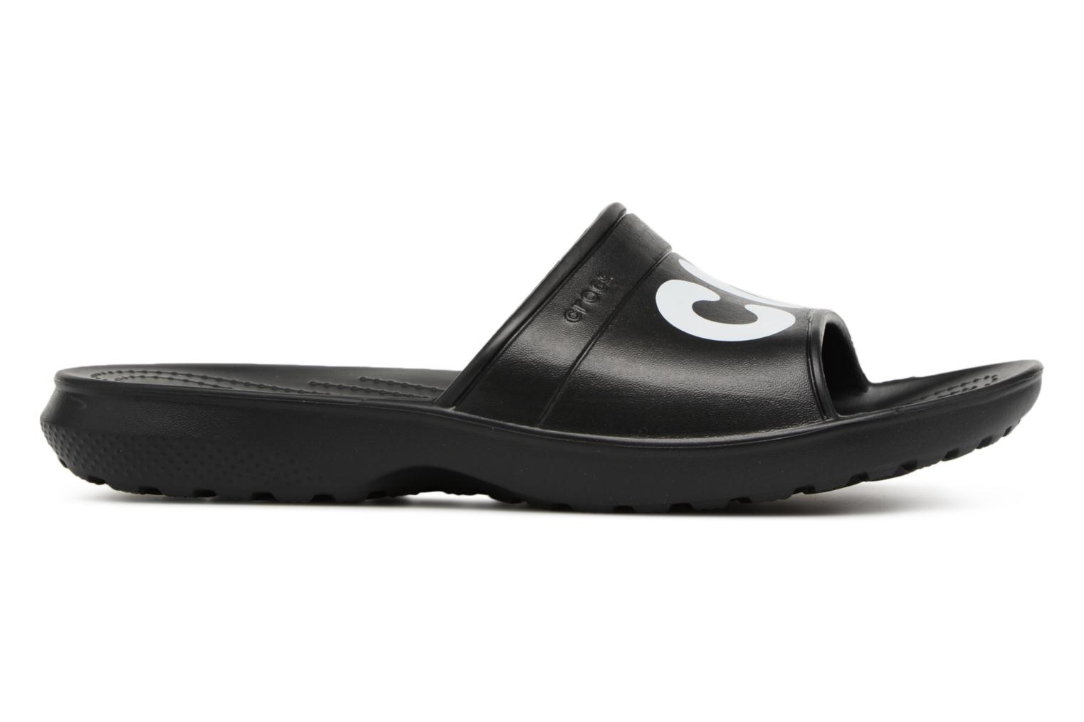 Mules & clogs Crocs Classic Graphic Slide Black back view