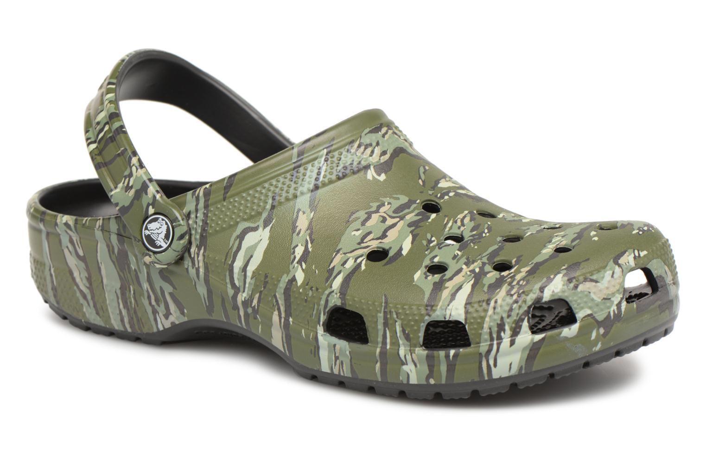 Crocs Classic Graphic Clog H (Vert) - Sandales et nu-pieds chez Sarenza (312505)