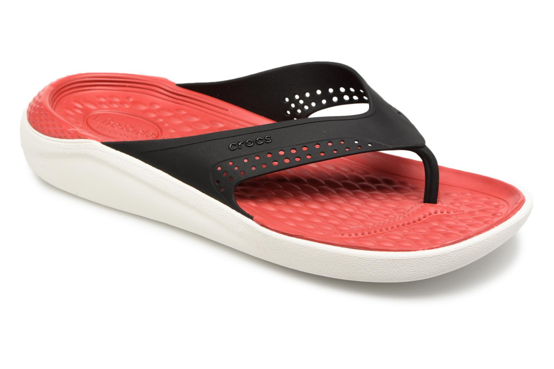 Crocs LiteRide Flip M (Rouge) - Tongs chez Sarenza (312521)