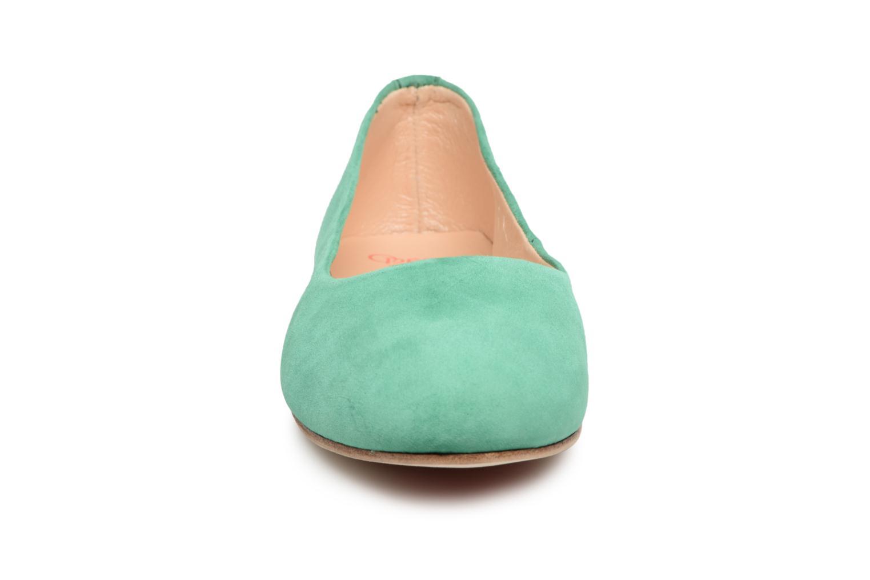 Ballerines Opéra national de Paris Edwige 1404 Vert vue portées chaussures