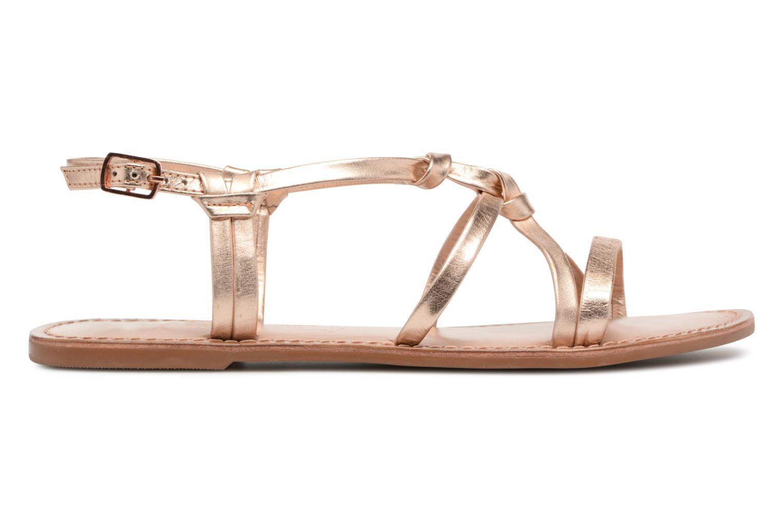 Sandales et nu-pieds I Love Shoes Kenania Leather Or et bronze vue derrière