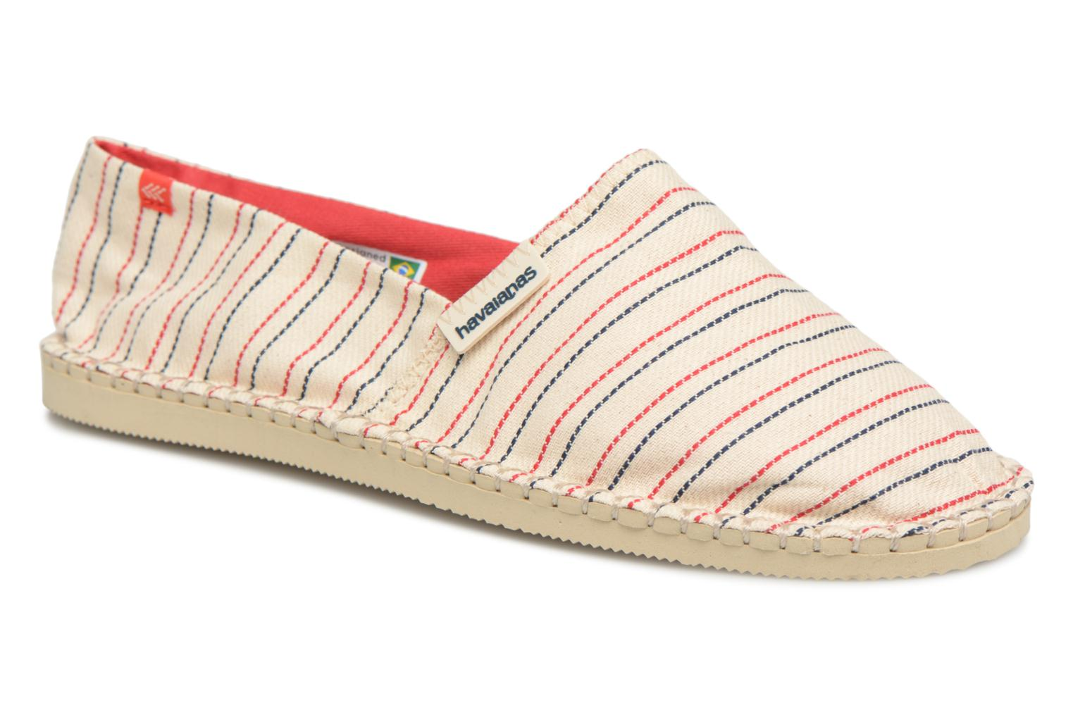 Marques Chaussure homme Havaianas homme Origine Print Classic III White/red