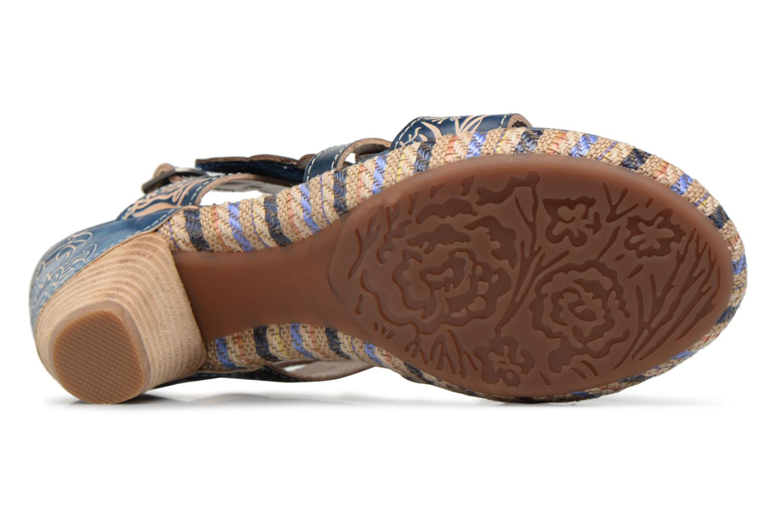 Sandals Laura Vita Belfort87 Multicolor view from above