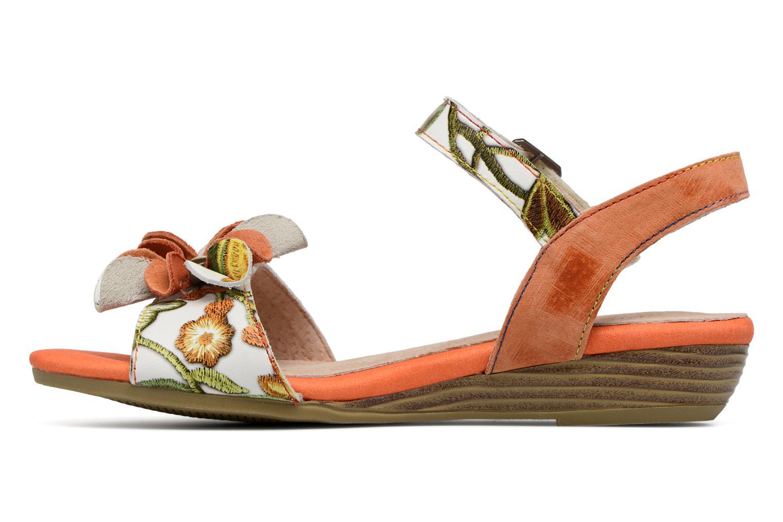 Sandales et nu-pieds Laura Vita Dune04 Orange vue face