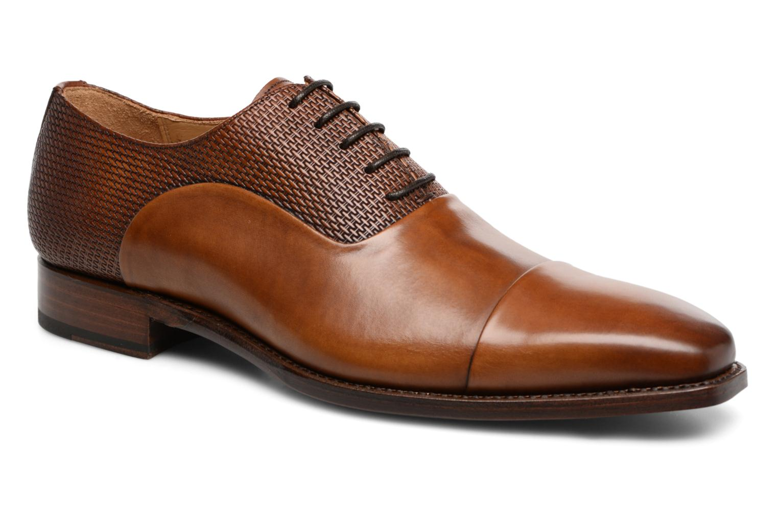 Marques Chaussure luxe homme Marvin&Co Luxe homme Warwick - Cousu Goodyear Elba noce +Elba noce masay
