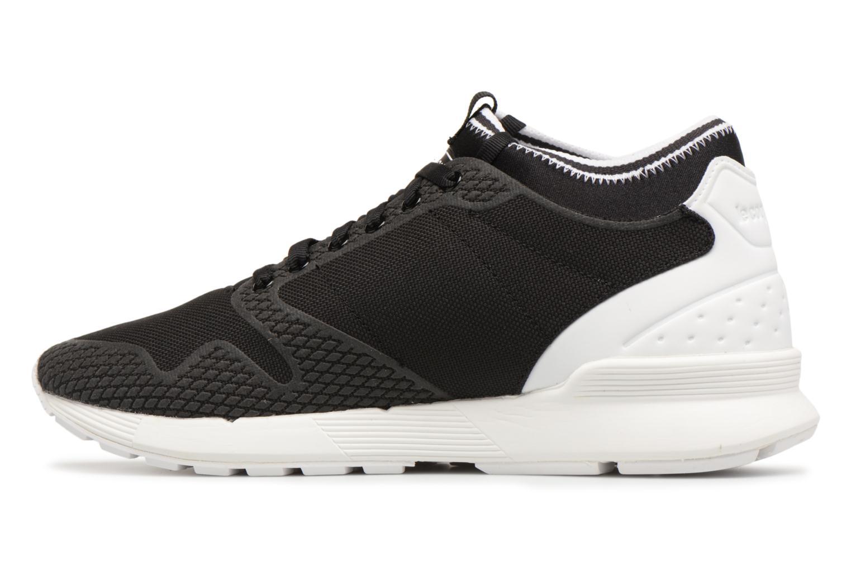 Sneakers Le Coq Sportif Omicron Tech Modern Zwart voorkant