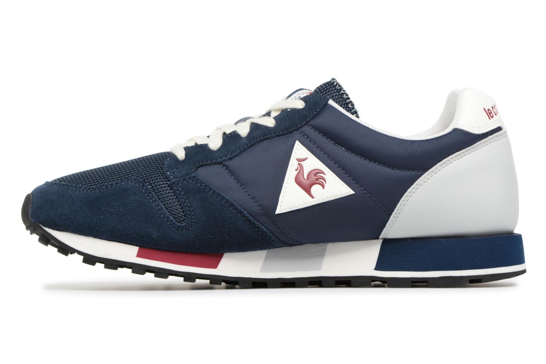 Sneakers Le Coq Sportif Omega Nylon Blauw voorkant
