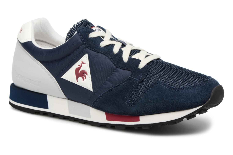 Sneakers Le Coq Sportif Omega Nylon Blauw detail