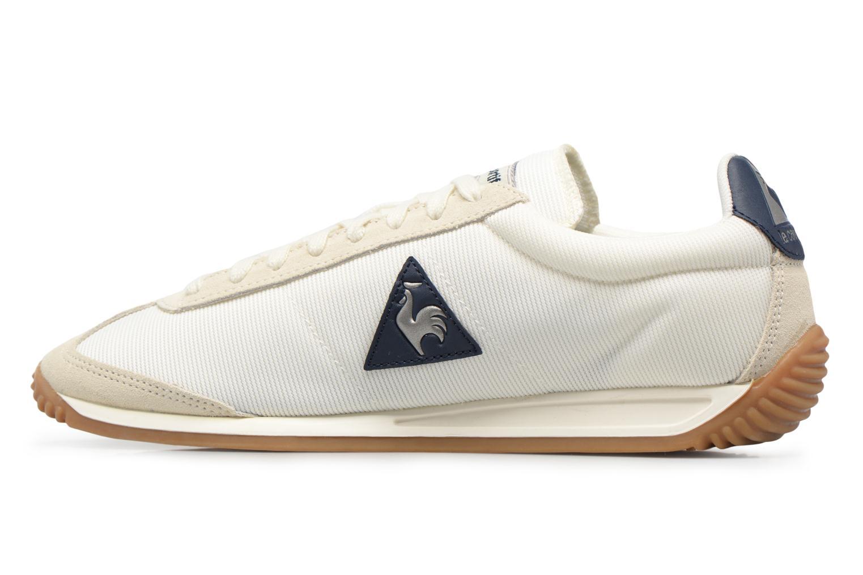 Sneakers Le Coq Sportif Quartz Nylon Gum Wit voorkant
