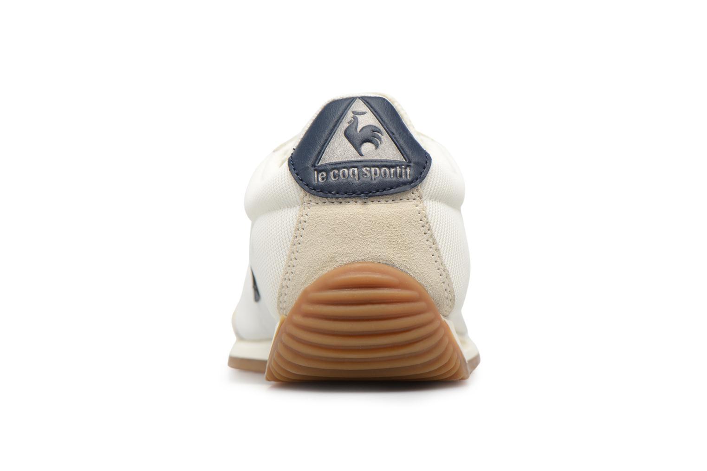 Baskets Le Coq Sportif Quartz Nylon Gum Blanc vue droite