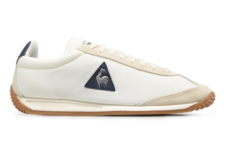 Sneakers Le Coq Sportif Quartz Nylon Gum Wit achterkant
