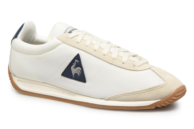 Sneakers Le Coq Sportif Quartz Nylon Gum Wit detail