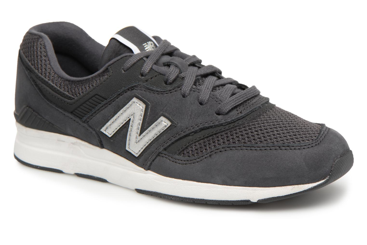 Trainers New Balance WL697 Black detailed view/ Pair view