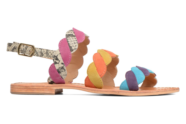 Made by SARENZA Carioca Crew Sandales Plates #2 (Multicolore) - Sandales et nu-pieds chez Sarenza (313154)