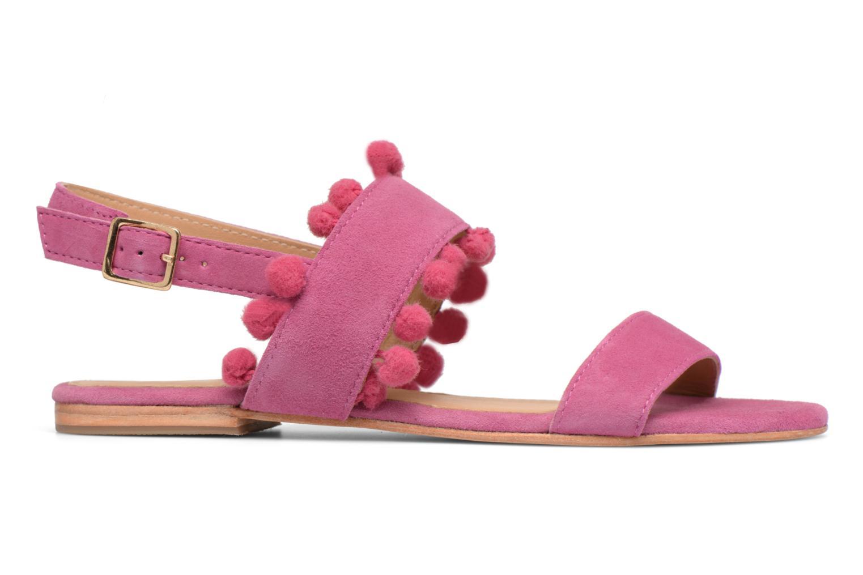 Made by SARENZA Bombay Babes Sandales Plates #2 (Rose) - Sandales et nu-pieds chez Sarenza (313155)