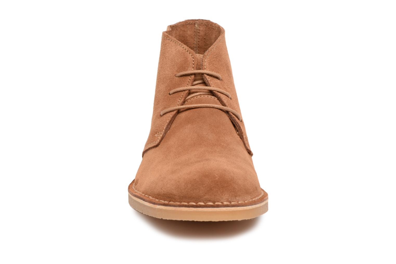Selected Cognac Suede 2 Boot Light Homme Royce xO7Pwqa86