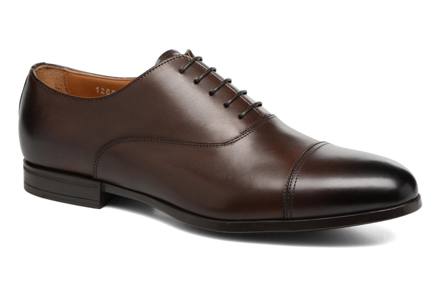 Marques Chaussure luxe homme Doucal's homme SEBASTIANO OSLO Prince Ebano