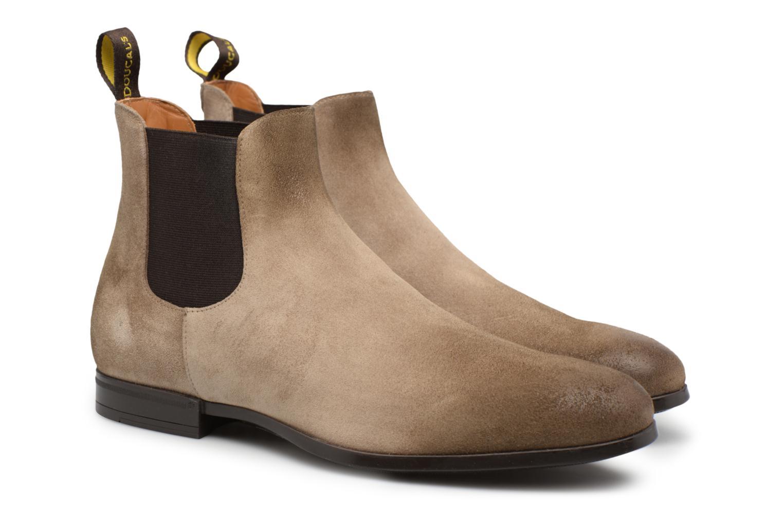 Bottines et boots Doucal's SILVIO Gris vue 3/4