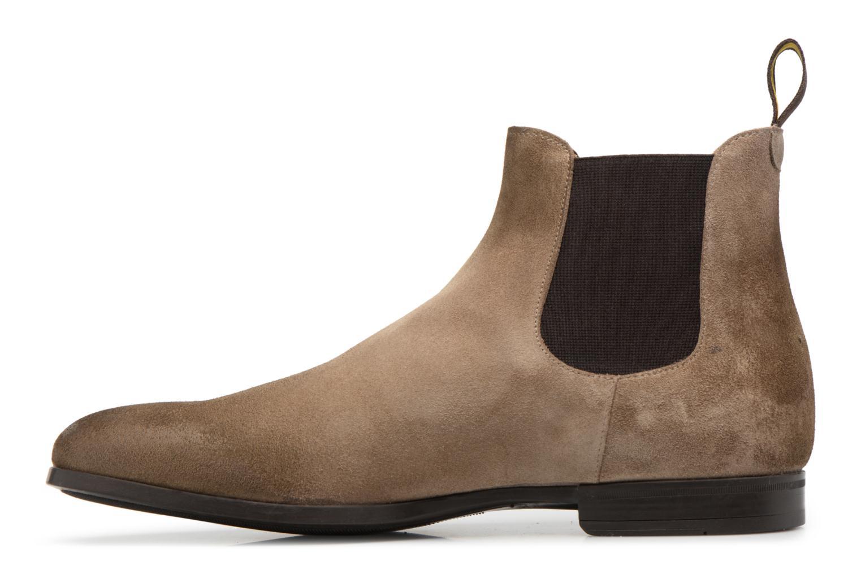 Boots en enkellaarsjes Doucal's SILVIO Grijs voorkant