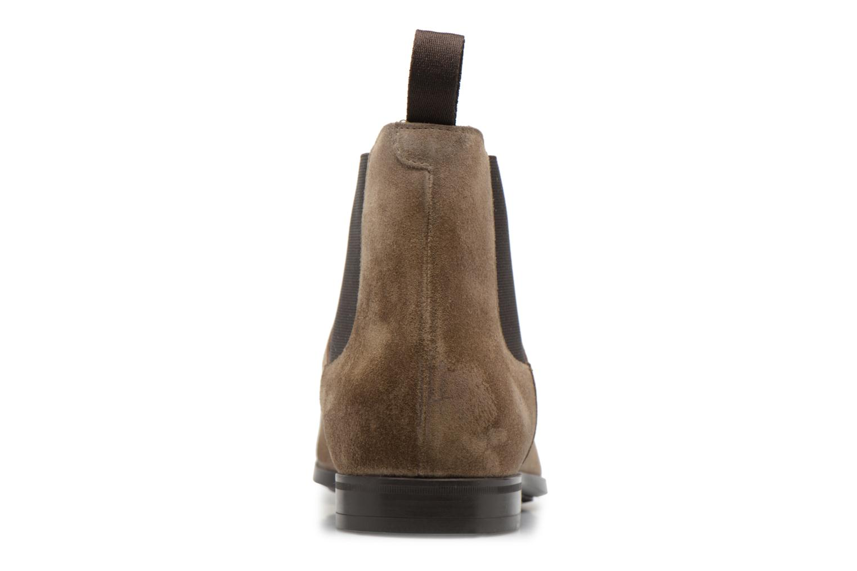 Boots en enkellaarsjes Doucal's SILVIO Grijs rechts