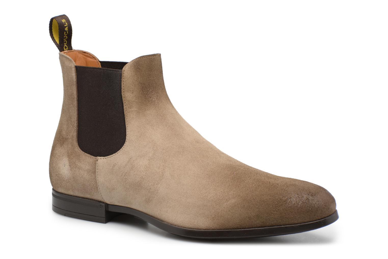 Bottines et boots Doucal's SILVIO Gris vue détail/paire