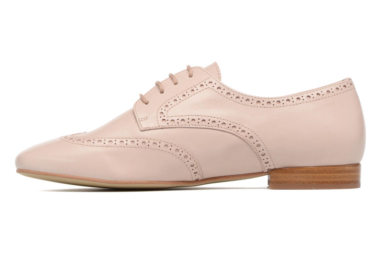 Chaussures à lacets Georgia Rose Taflora Beige vue face
