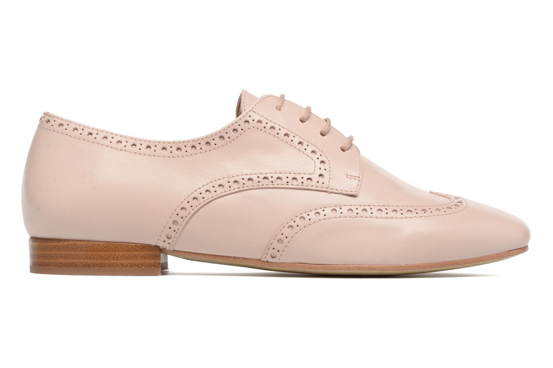 Chaussures à lacets Georgia Rose Taflora Beige vue derrière