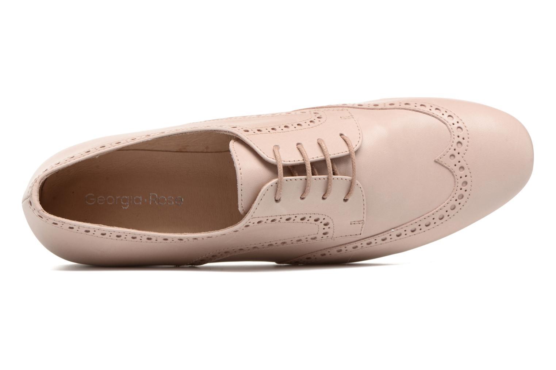 Chaussures à lacets Georgia Rose Taflora Beige vue gauche