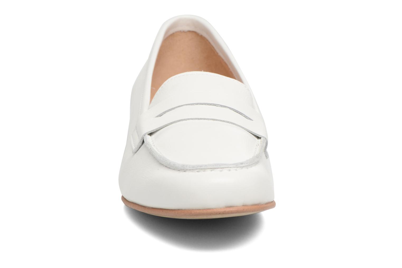 Mocassins Georgia Rose Alchi Blanc vue portées chaussures