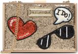 Love Moschino Ilovefoulard Noir Sandales Et Nu Pieds