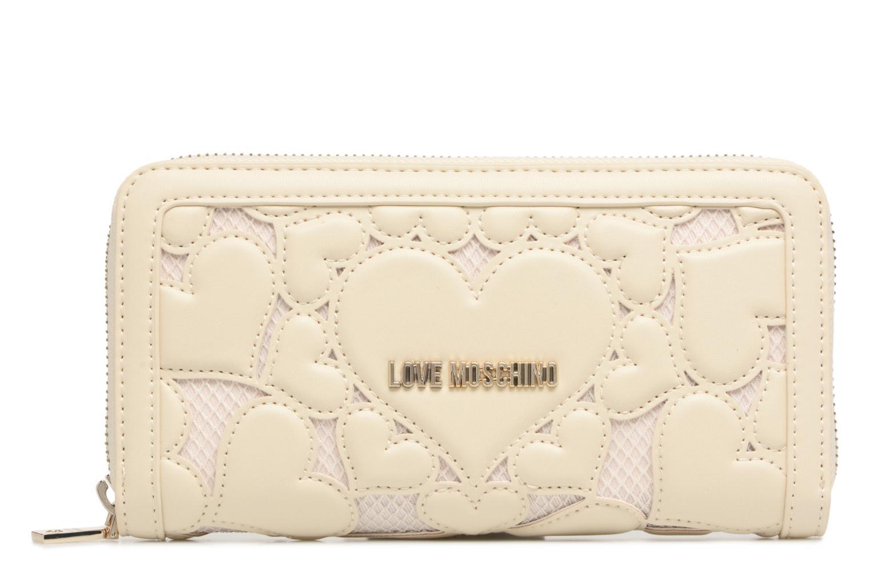 Pelletteria Love Moschino Portefeuille Love Intarsia Bianco vedi dettaglio/paio