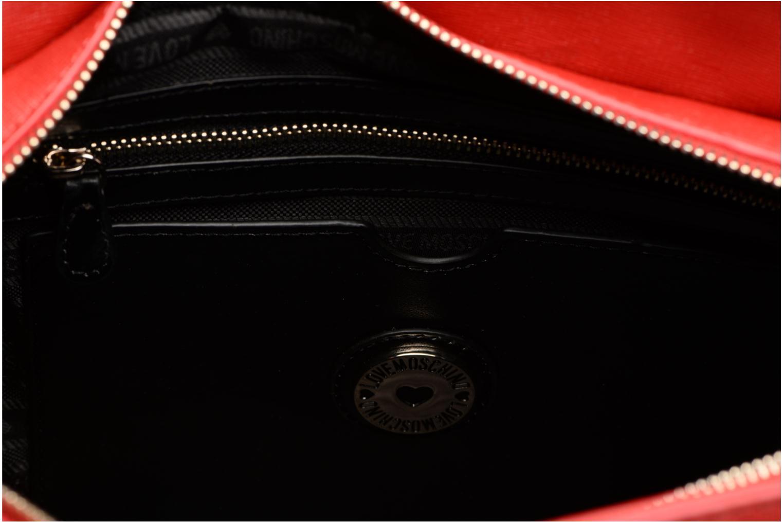 Handtassen Love Moschino Porté main Love Moschino Logo Rood achterkant