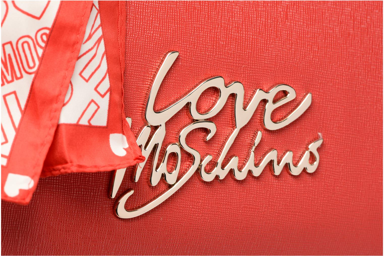 Handtassen Love Moschino Porté main Love Moschino Logo Rood links