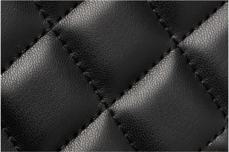 Sacs à main Love Moschino Porté épaule Super Quilted Noir vue gauche