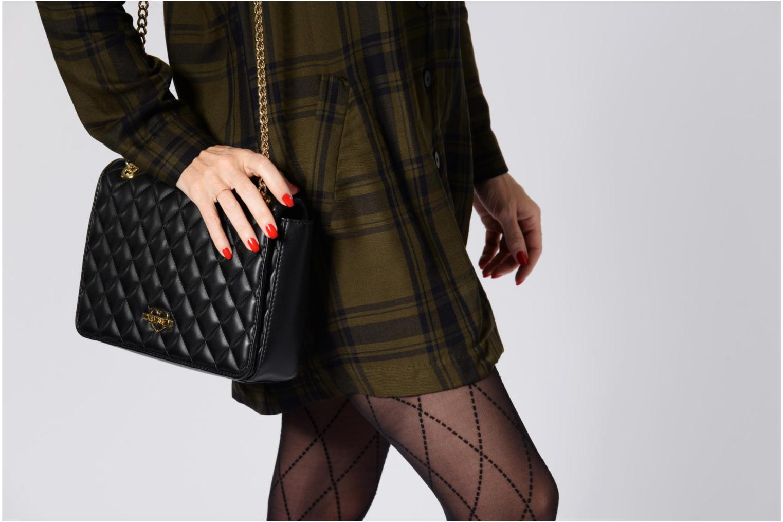 Sacs à main Love Moschino Porté épaule Super Quilted Noir vue haut
