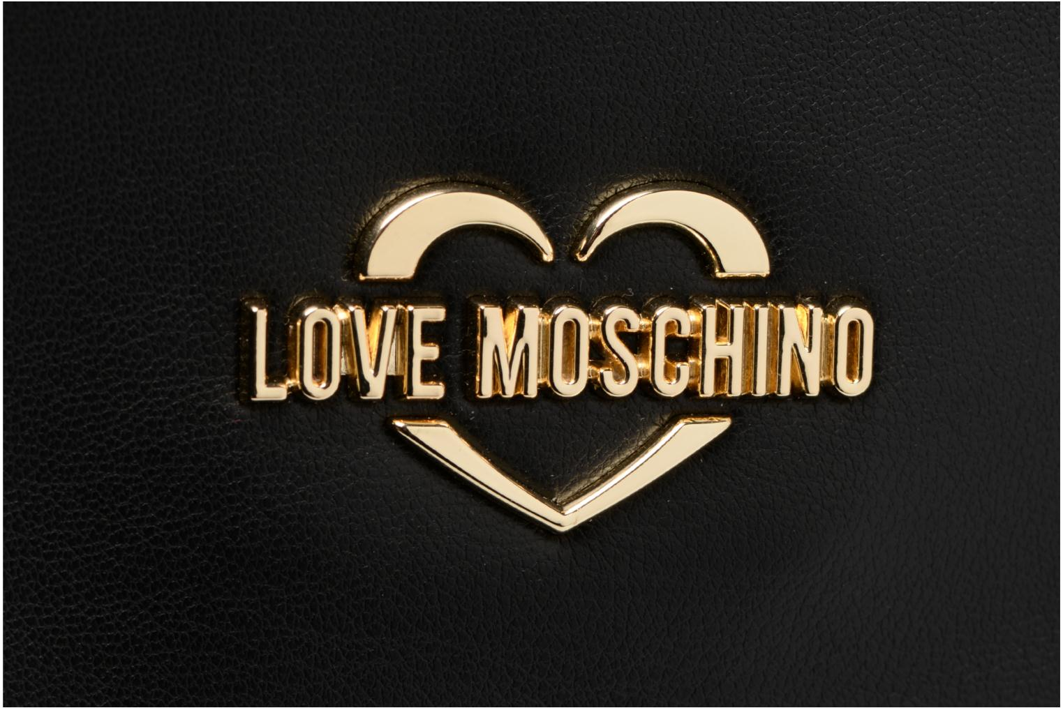 Rugzakken Love Moschino Sac à dos Super Quilted Zwart links