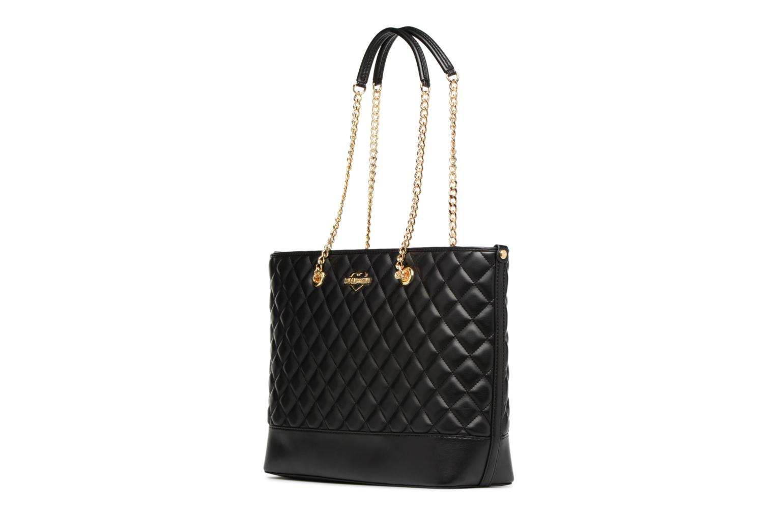 Cabas Chaine Super Quilted 000 Black