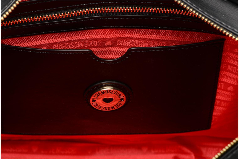 Handtassen Love Moschino Cabas Chaine Super Quilted Zwart achterkant