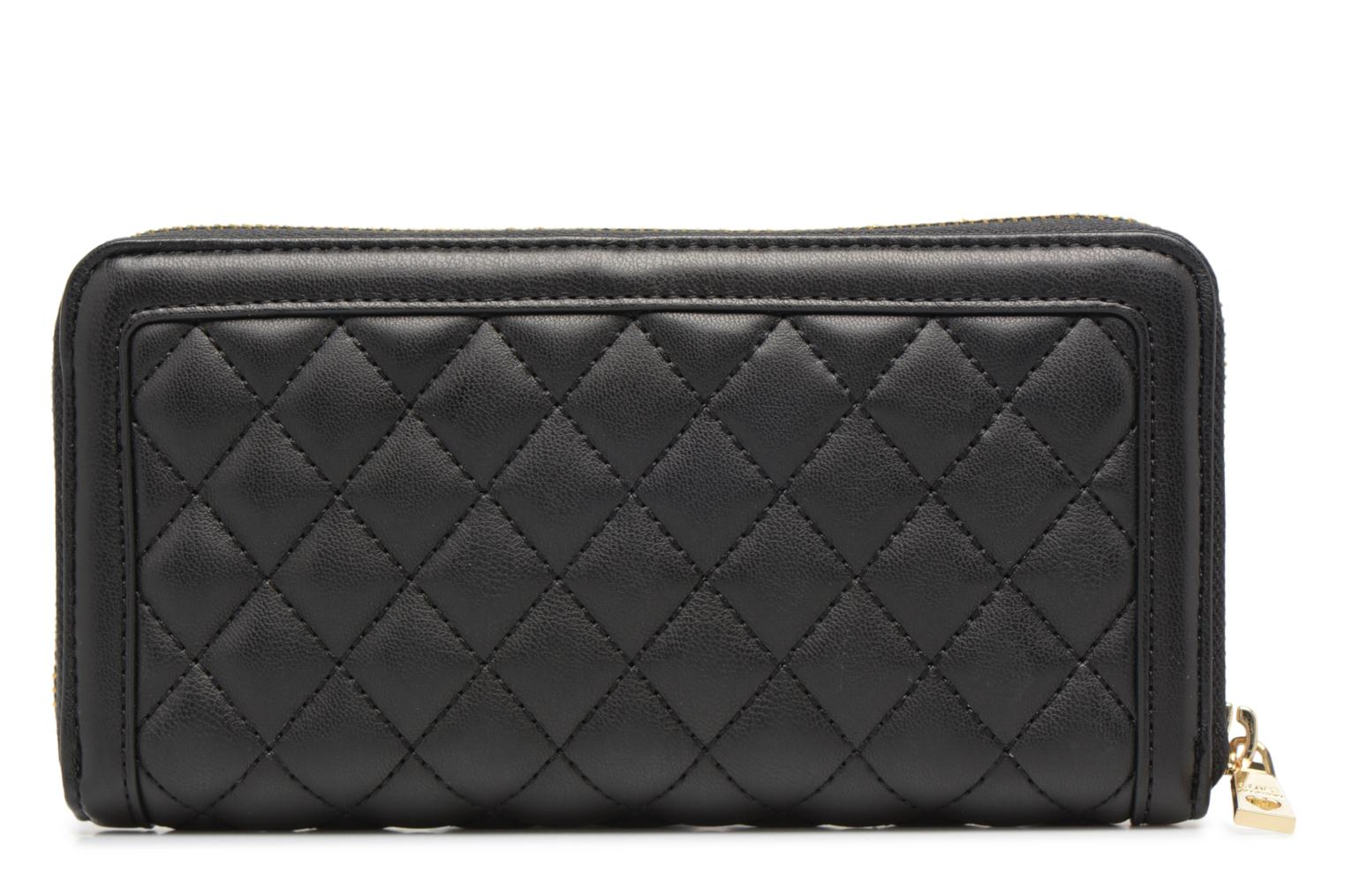 Pelletteria Love Moschino Portefeuille Super Quilted Nero immagine frontale