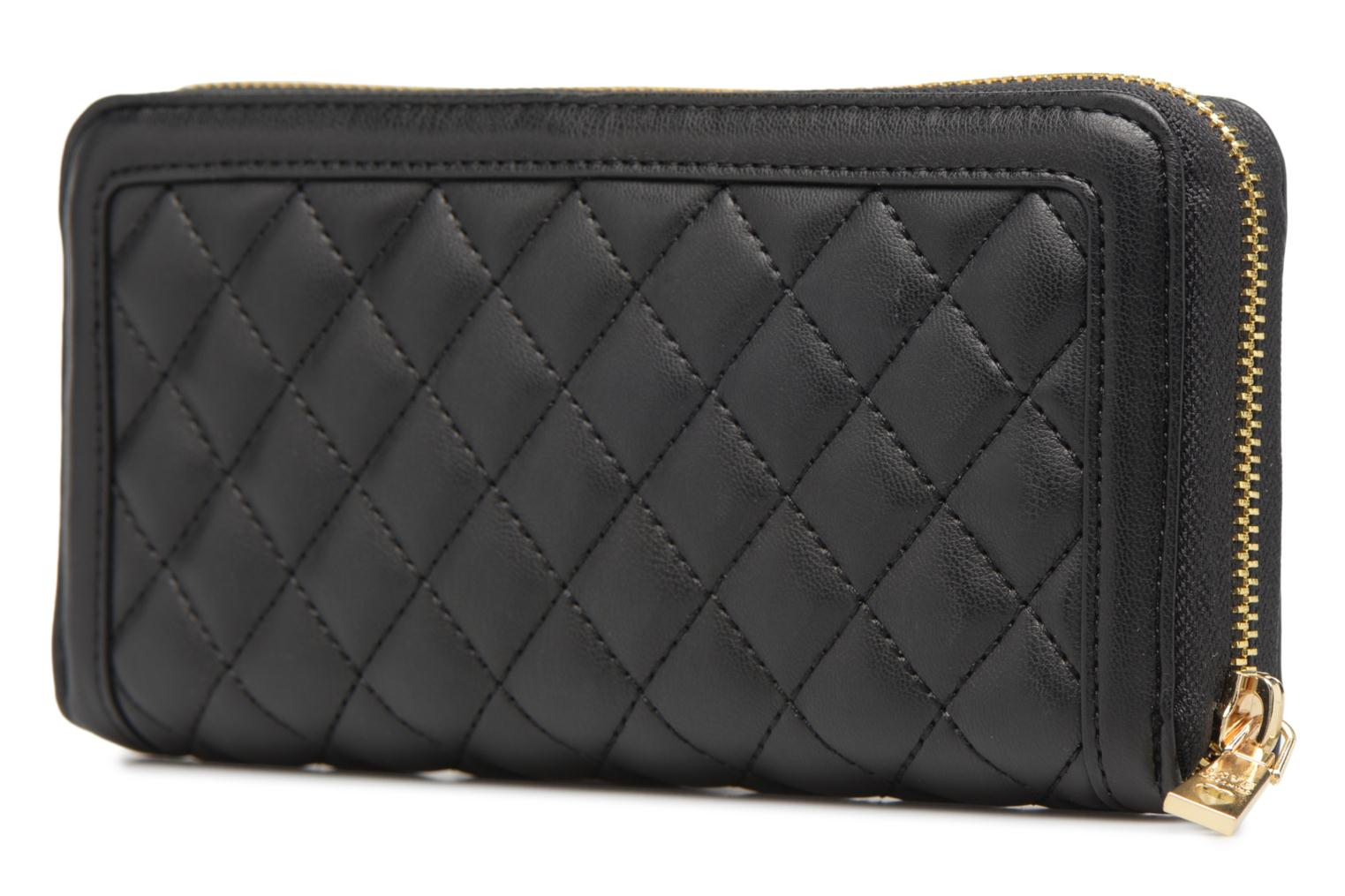 Portefeuille Super Quilted 000 Black