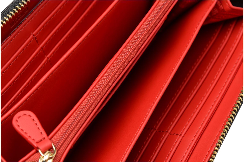 Pelletteria Love Moschino Portefeuille Super Quilted Nero immagine posteriore