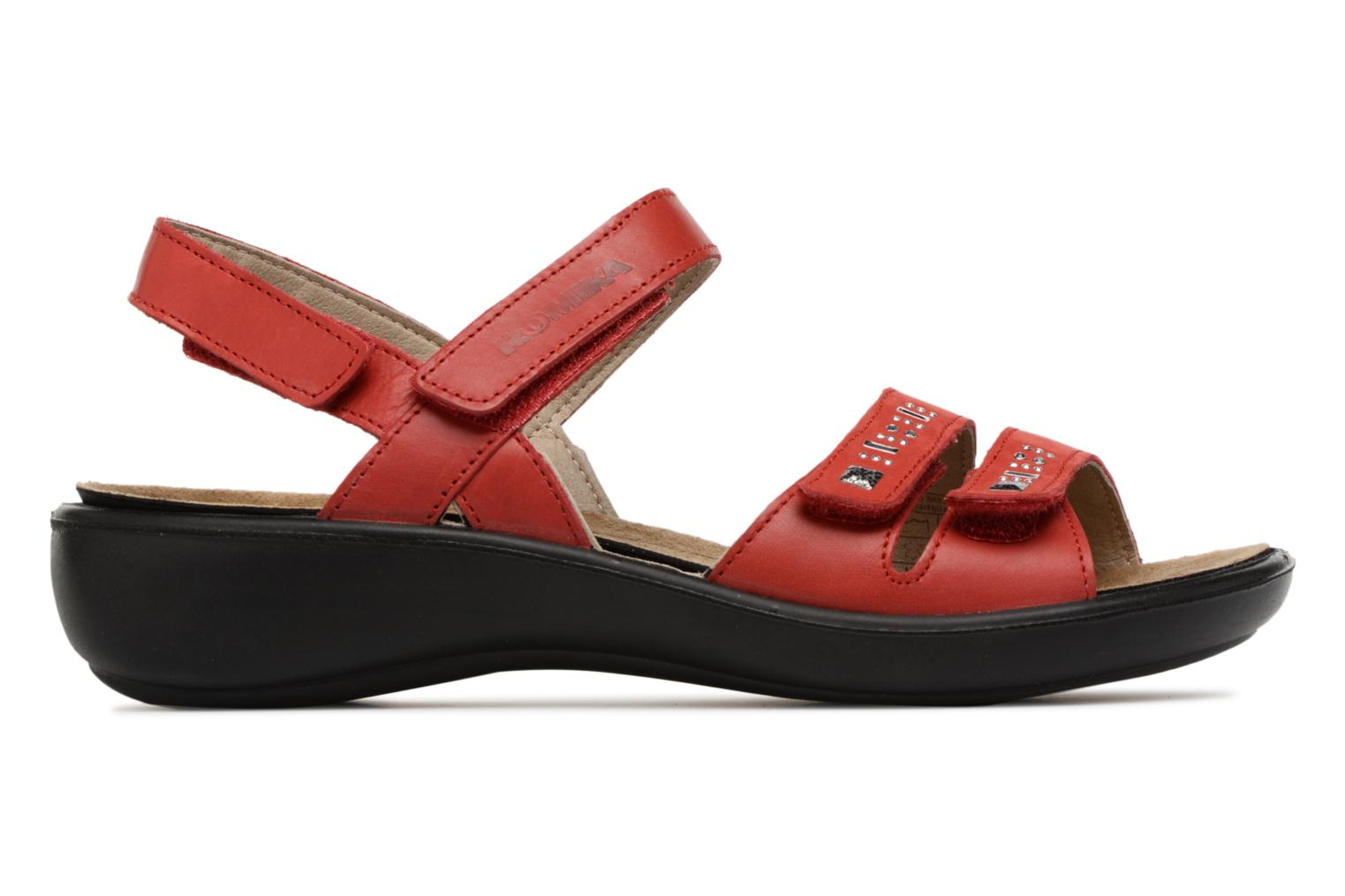 Sandals Romika Ibiza 86 Red back view
