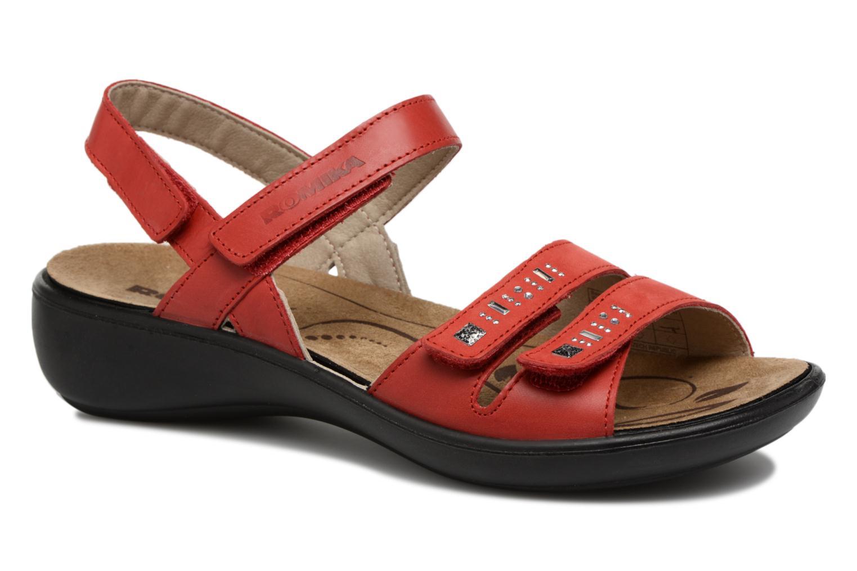 Zapatos promocionales Romika Ibiza 86 (Rojo) - Sandalias   Cómodo y bien parecido